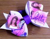 Elastico per capelli con fiocco Violetta rosa : Accessori per capelli di latipadeltappo