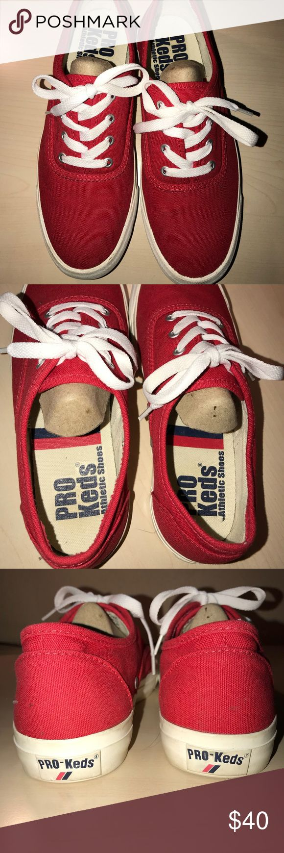 Pro Keds Athletic shoes In perfect condition, basically brand new Keds Red Athletic shoe. Worn once Keds Shoes Athletic Shoes