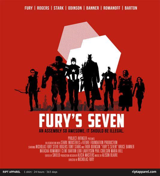 """""""Fury's Seven"""""""