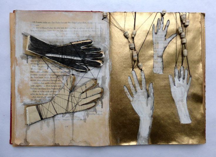 gesticulating book by Ines Seidel