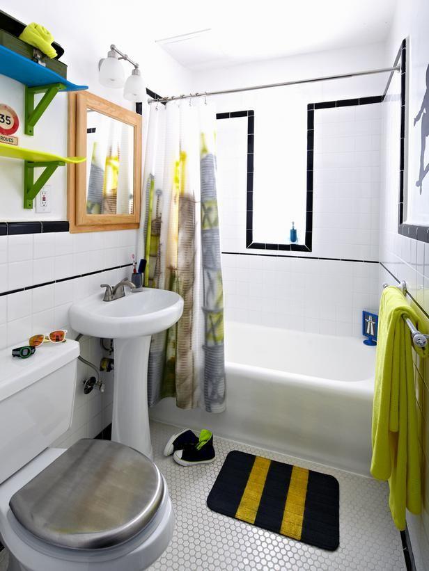 boys 39 skateboard style bathroom shelves black and gray. Black Bedroom Furniture Sets. Home Design Ideas