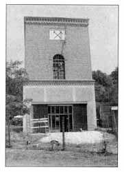 Az egyetlen fennmaradt aknatorony