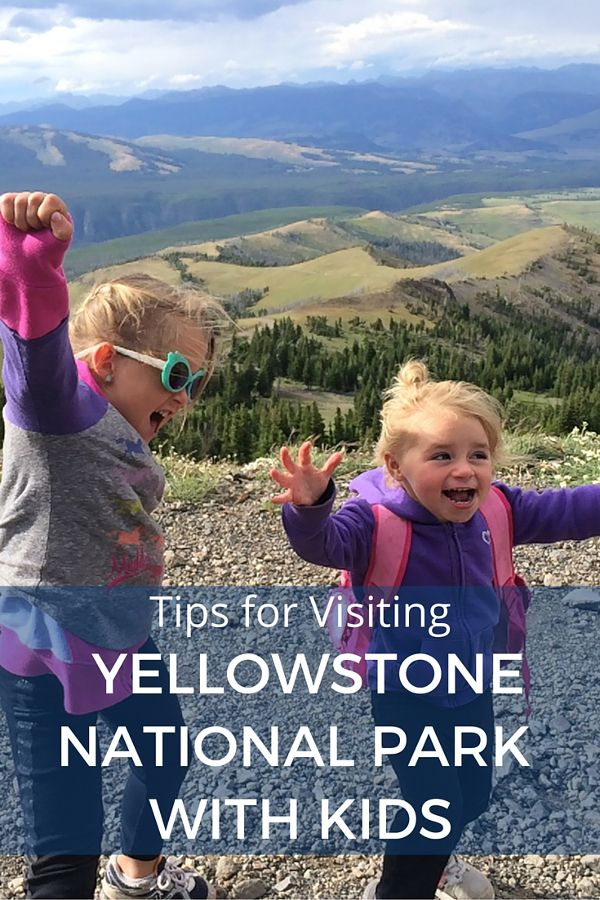 8 Tips for Visiting Yellowstone National Park with Kids - If Yellowstone is on your USA travel bucket list click inside now for great advice!