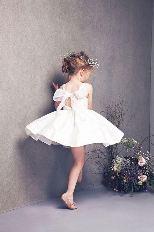 Beautiful White girls dress