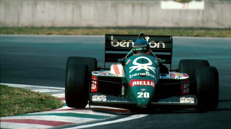Benetton's F1 - Gerhard Berger scored his and first F1 victory with a zero-stop strategy in the 1986 race