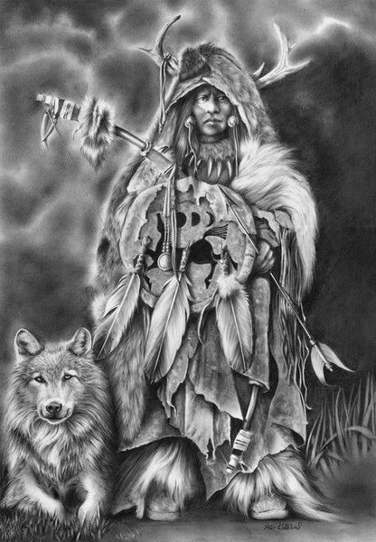 Peter Williams: Spirit Of The Hunter..these drawings are beauiful