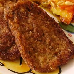 Breaded Beef ... Tried it tonight and i loved it... So did my husband who doesn't eat beef
