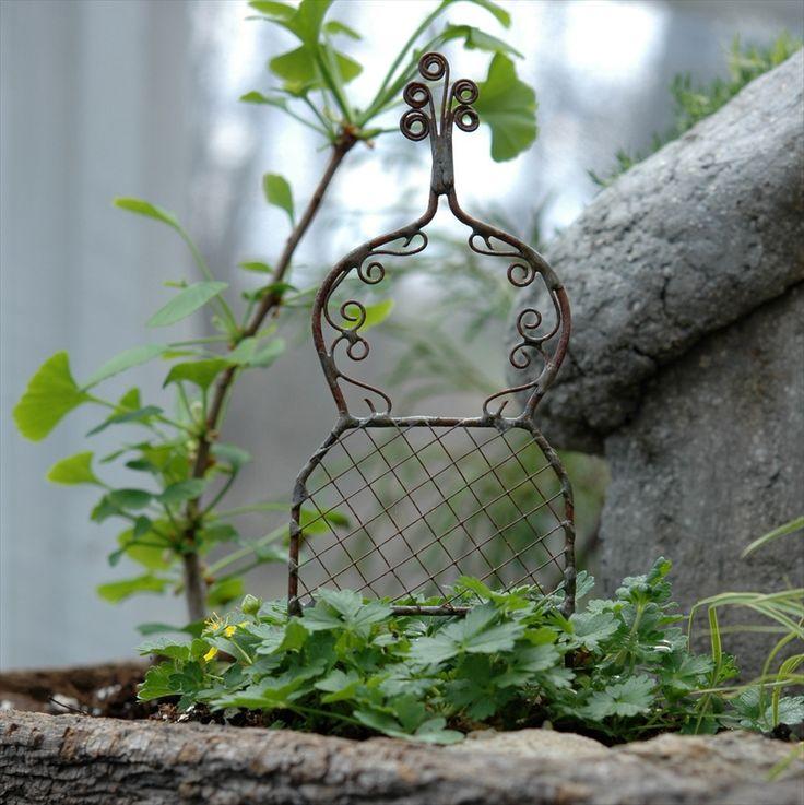 Miniature Garden Trellis – Lovely Gardens
