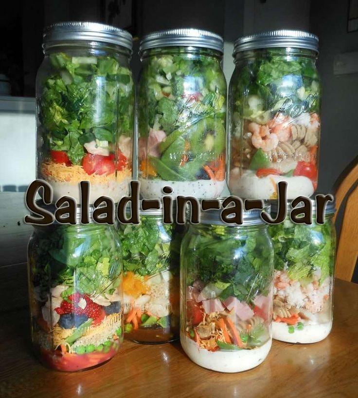 South African Recipes   SALAD IN A JAR