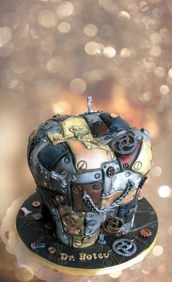 Steampunk tooth....dentists gone wild by Delice