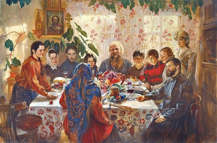 Russian Easter by Mikhail Shankov 2005