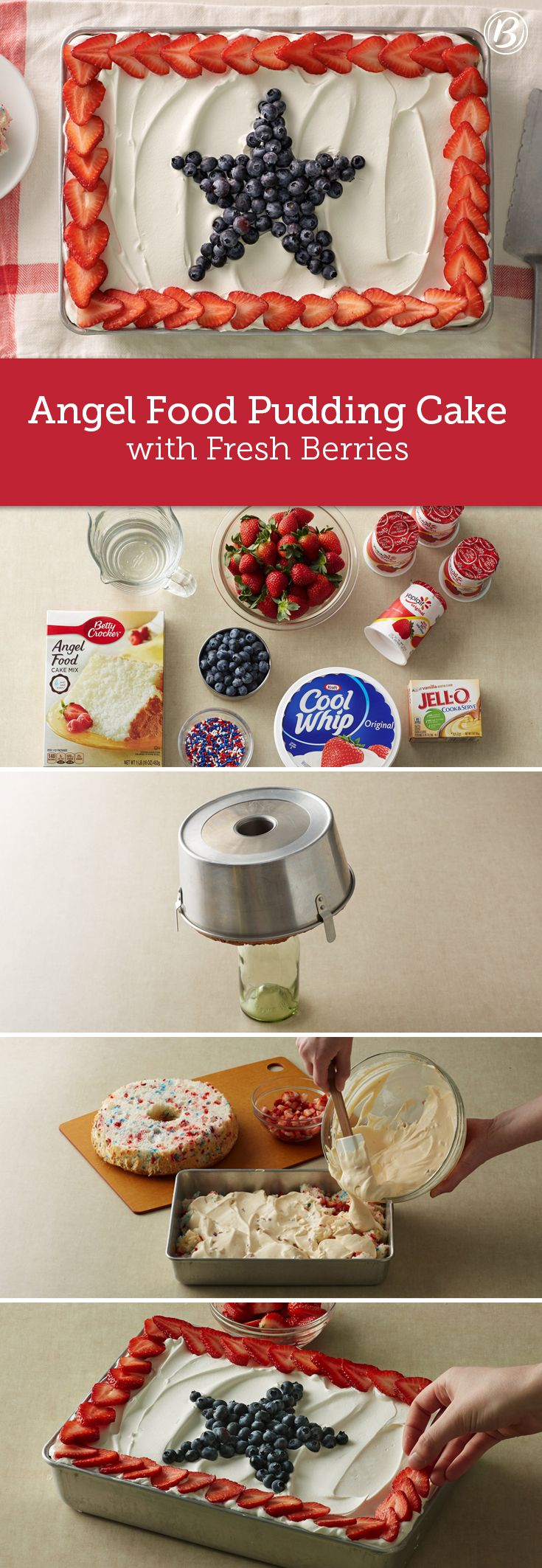 ... on Pinterest | Red white blue, Fourth of july food and Blue strawberry