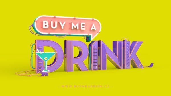 Buy me a Drink - Branding on Behance