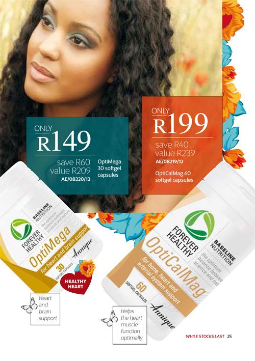 Annique September 2017 Beauté OptiCalMag & OptiMega Purchase any of these months awesome #Annique #Specials from our online store AND earn rewards while you're there. #rooibosmiracle  https://rooibos-miracle.co.za/store/