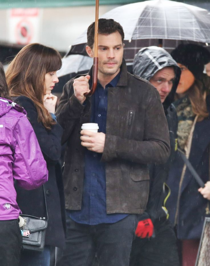 36 best jamie and dakota images on pinterest 50 shades christian jamie dornan as christian grey dakota johnson as anastasia steele filming fifty shades darker fandeluxe Choice Image
