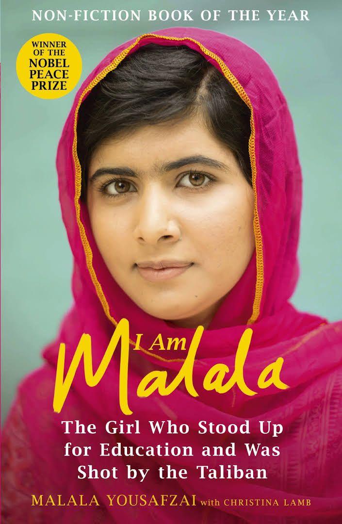 """I Am Malala"" Malala Yousafzai  https://books.google.no/books/about/I_Am_Malala.html?id=tRUCBQAAQBAJ&source=kp_cover&redir_esc=y&hl=no"