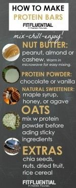 How To Make Your Own Protein Bars