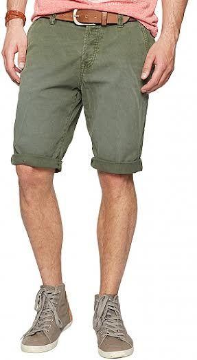 Tom Tailor Bermuda Slim Chino Brand : Tom Tailor Denim Bahan : 100%cotton  Size :29(Lp 87-88), 30(Lp ,89-90cm), 31(Lp 91-92cm) Made In Indonesia SOLD