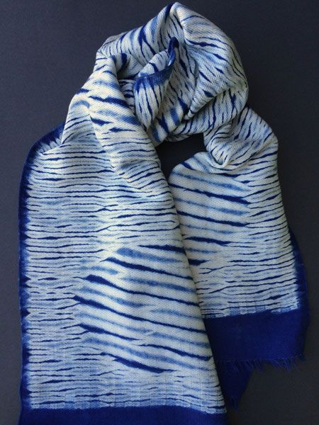 No skills required. Really. It's easy. Natural dyeing with indigo and shibori resist techniques can be done quickly without prior dyeing or weaving experience with these artisan-designed methods.