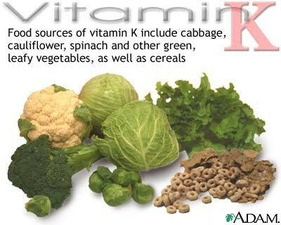 Vitamin K and Coumadin
