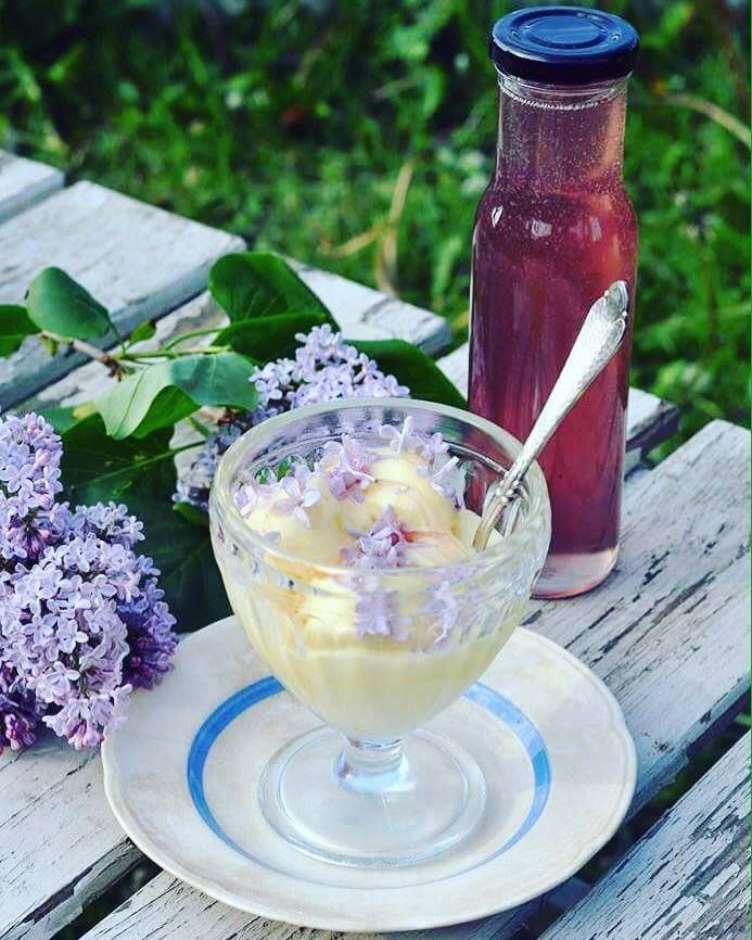Lilacs are blooming now. Glorious and perfect if you like to preserve, because the lilac flowers are amazing in the preserving kitchen … you can use them in jams and jellies and  you can use the flowers in a tasty  syrup, great on summer pancakes or on your favorite ice cream dessert. It takes no …