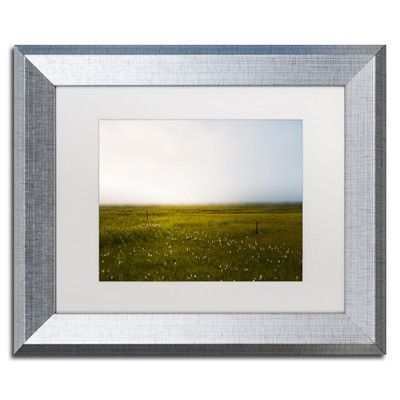 """Trademark Art Lucid Dreaming by Philippe Sainte-Laudy Framed Photographic Print Size: 11"""" H x 14"""" W x 0.5"""" D, Frame Color: Black"""
