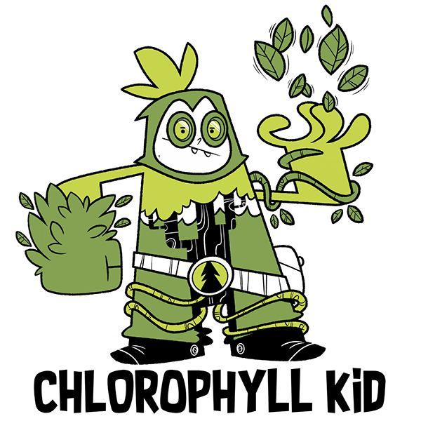 DCember 2017 - Chlorophyll Kid on Behance