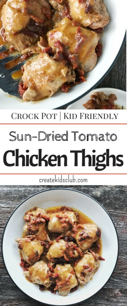 This simple chicken recipe is so easy you can get it ready in 5 minutes. A quick dinner recipe that cooks all day. A great meal for busy nights. An inexpensive dinner.