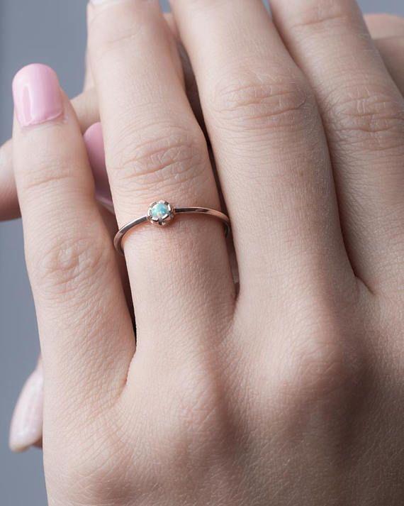 April birthstone ring Gift for her Birthstone Jewellery April birthday gift Cz Diamond Ring UK shop Gemstone ring sterling silver