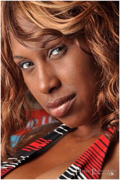 Sexy Ebony Model