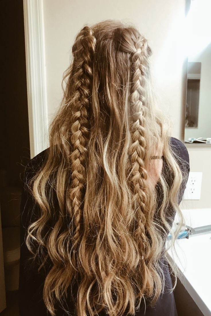Des idées de cheveux et des coiffures simples et mignonnes. Coiffures simples p…