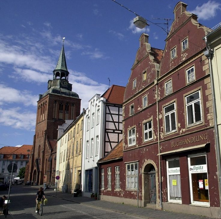 Old City Guestrow,Mecklenburg,Germany