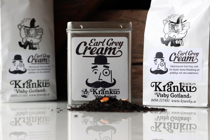 Our own popular tea blend, Earl Grey Cream, gets a redesign.