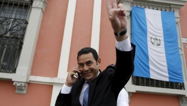 Jimmy Morales has been elected as Guatemala's president after winning the runoff vote in the country's presidential election. The former comedian has
