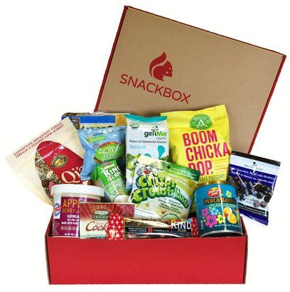 Review of Canadian snacks by mail - Snackbox. With a #giveaway to win your own box on Christmas Day.