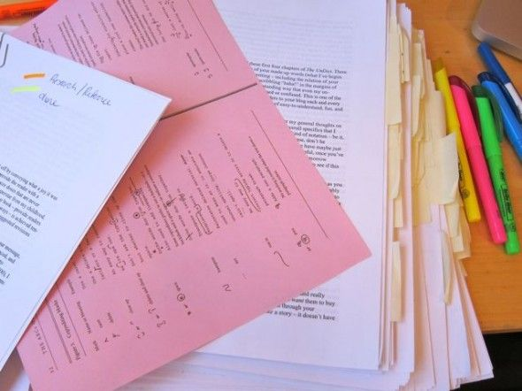 the editorial process and post-it note hate.Postit Note