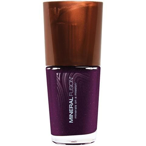 Amethyst Nail Polish-mineral fusion from vita health (vegan). Quality vegan nail polish that costs less than $20 NOT easy to find. This brand is great.