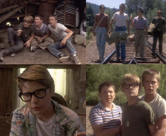 "STAND BY ME, 1986 (dir. Rob Reiner).  ""If I could only have one food for the rest of my life? That's easy-Pez. Cherry-flavored Pez. No question about it.""  - Vern (Sincerely)."