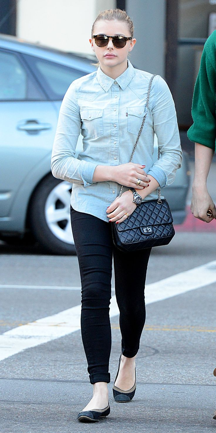 Chloe Moretz and her brother Colin head out and about together on Thursday (January 3) in Beverly Hills, Calif.