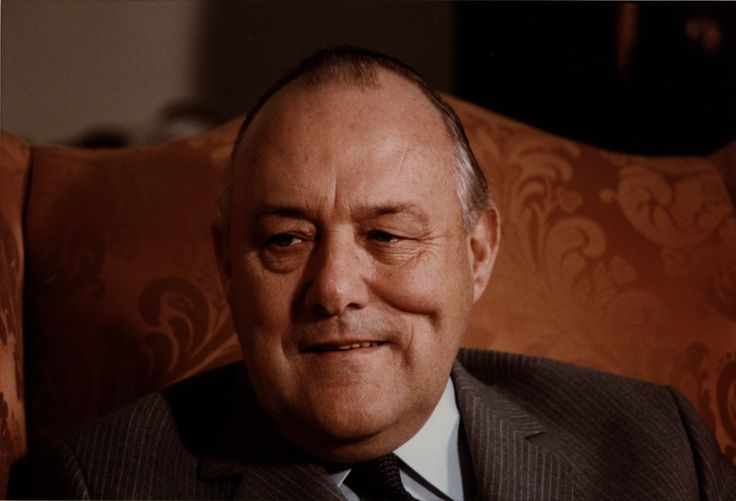 "Robert Muldoon-1975-1984---Sir Robert David ""Rob"" Muldoon GCMG CH served as the 31st Prime Minister of New Zealand from 1975 to 1984, as leader of the governing National Party"