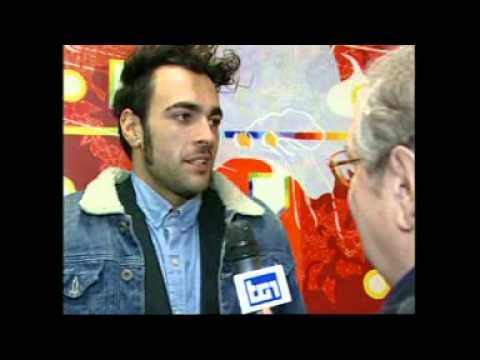 Sanremo 63, intervista a Marco Mengoni @mengonimarco #MarcoASanremo