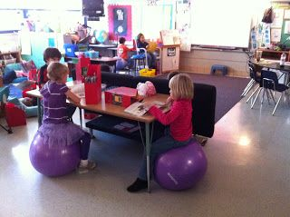 Ridgleys Fun and Fabulous Firsties!: Alternative Seating:
