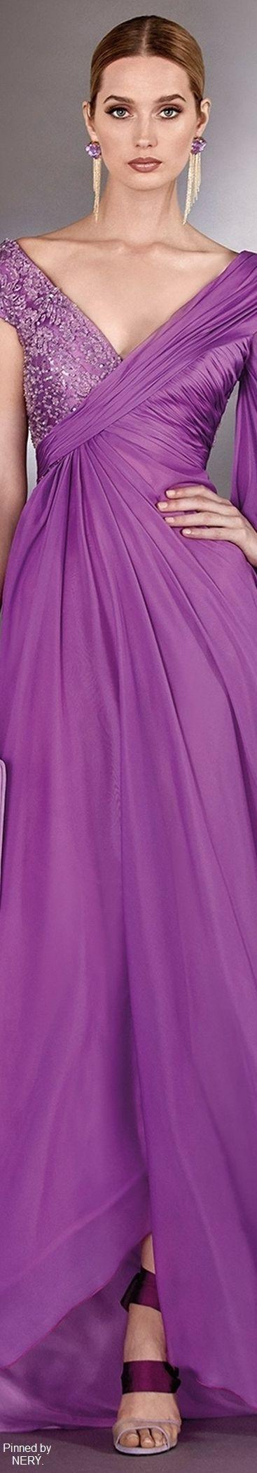 173 best TRAJES DE FIESTA images on Pinterest | Block dress, Classy ...