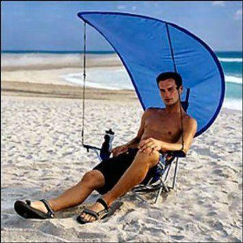 Folding Beach Chair with Canopy