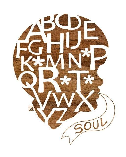 Soul Anagram, Art Print by ThePairaBirds: Abc 123S, Silhouette Art, Thepairabird Etsy Com, Art Prints Posters Paintings, Artsy Letters, Graphics Design, Children, Alphabet, Soul Anagram