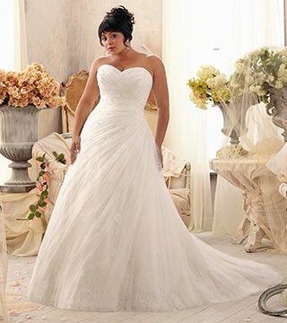 plus size wedding gowns   Plus size wedding dresses by Mori Lee