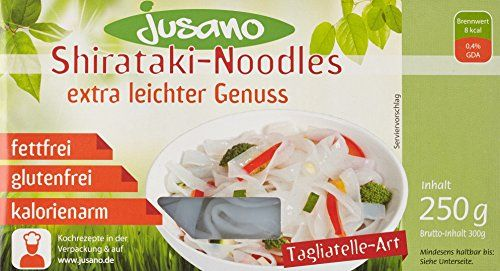 Jusano Shirataki Noodles - Tagliatelle Art, 5er Pack (5 x…