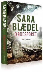 Sara Blædel kommer og holder foredrag i vores bornholmske boghandel til december.