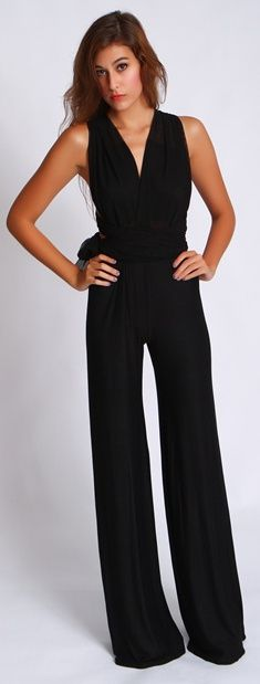 Deep V Jumpsuit $95.00/ I have this and I LOVE IT!