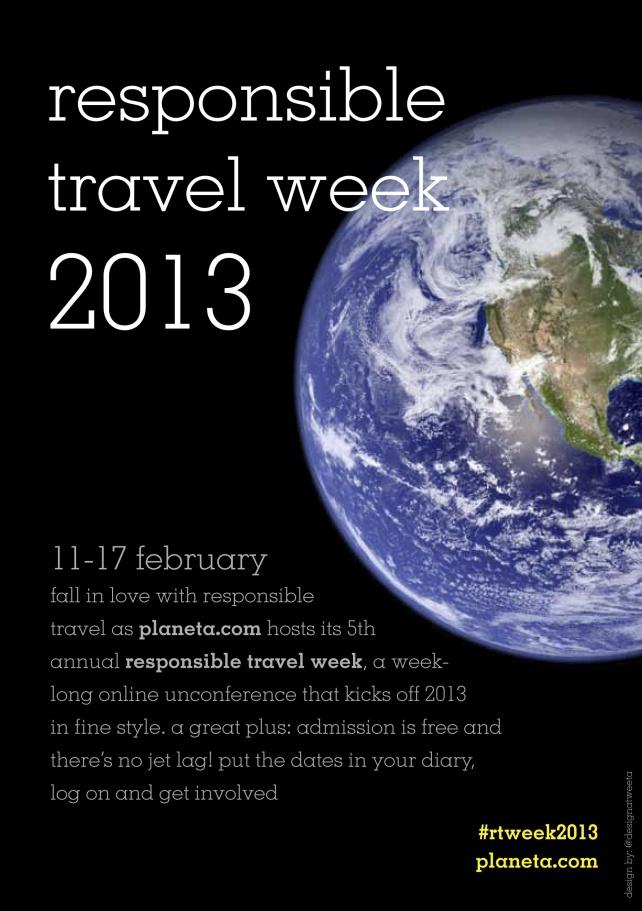 Responsible Travel Week is next week! (Feb 11-17, 2013)